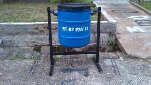 tong sampah ukuran 40 liter